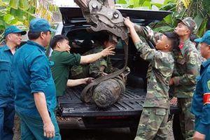 Quảng Ninh di dời thành công quả bom nặng 230kg từ thời chiến tranh