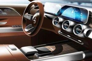 Mercedes Concept GLB được hé lộ chính thức qua hình ảnh đầu tiên