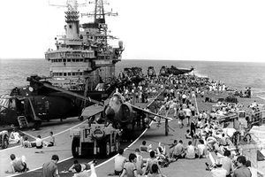 Nhìn lại cuộc chiến Falklands 37 năm trước