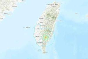Động đất 5,7 độ richter rung chuyển Đài Loan