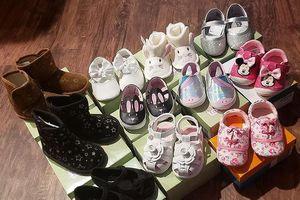 Mua cả cửa hàng giầy để tặng nạn nhân bão lũ