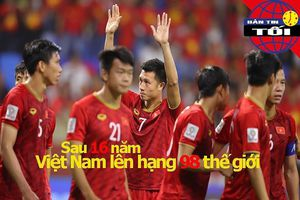 Việt Nam lên hạng 98 thế giới sau 16 năm, Maradona dính 'phốt'