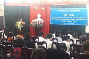 Hà Nội dẫn đầu cả nước về đăng ký doanh nghiệp qua mạng