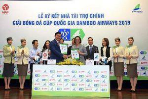 Bamboo Airways tài trợ một tỷ đồng đội vô địch Cúp quốc gia 2019