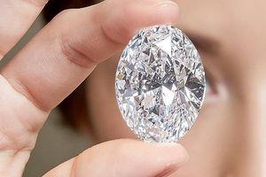 Ngắm viên kim cương khổng lồ, đẹp hoàn hảo, giá cao ngất