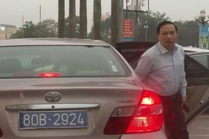 Phó bí thư Ninh Bình đi xe công có 2 biển số: Xin rút kinh nghiệm?