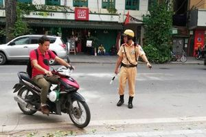 Hà Nội: Xử lý gần 50 nghìn trường hợp vi phạm quy định về đội mũ bảo hiểm