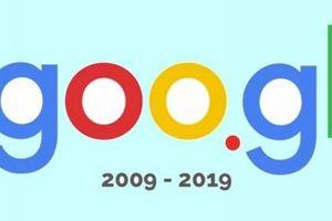 Dịch vụ rút gọn link goo.gl chính thức đi vào 'dĩ vãng'