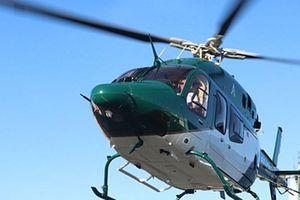 Tắc đường, góp tiền gọi trực thăng đi làm, chỉ mất 3 phút