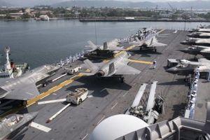 Chiến hạm Mỹ tới Biển Đông mang theo số lượng F-35 nhiều bất thường