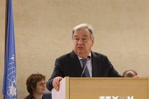 Tổng thư ký Liên hợp quốc thăm Libya thúc đẩy tiến trình bầu cử