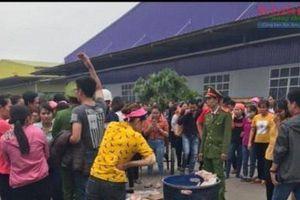 Kết luận chính thức vụ 1.000 công nhân ở Ninh Bình bỏ bữa trưa vì nghi thực phẩm bẩn