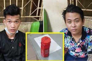 TP.HCM: Bắt 2 kẻ xăm trổ trên đường đi ném sơn vào nhà dân để đòi nợ