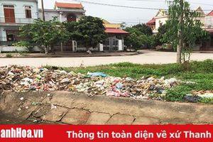 Huyện Tĩnh Gia: Loay hoay giải bài toán rác thải nông thôn