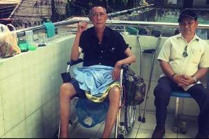 Nghệ sĩ Lê Bình liệt nửa người, ung thư đã di căn vào tủy