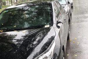 Hàng loạt xe ô tô tại đô thị Hồng Hà Ecocity bị 'vặt' gương