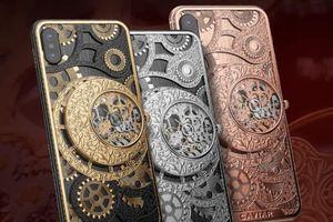 Cận cảnh iPhone XS tích hợp đồng hồ cơ xoáy trị giá tới 200 triệu đồng
