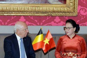 Chủ tịch Quốc hội hội kiến Chủ tịch Thượng viện Vương quốc Bỉ