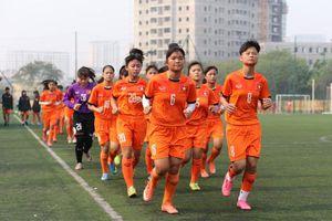 Tuyển U15 nữ Quốc gia tập trung chuẩn bị cho giải U15 nữ Đông Nam Á 2019