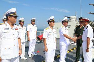 Tàu hộ vệ 012 - Lý Thái Tổ thăm hữu nghị Myanmar
