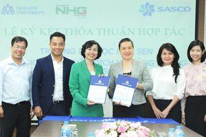 SASCO ký kết hợp tác với Đại học Hoa Sen