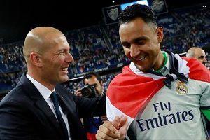 HLV Zidane ưu ái con trai, Navas bóng gió rời Real Madrid