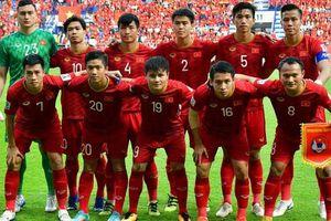Tuyển Việt Nam thăng tiến ấn tượng trên bảng xếp hạng FIFA!