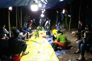 Liên tiếp bắt hàng chục đối tượng đánh bạc ở Quảng Nam