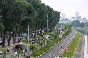 Toàn cảnh đường đi bộ dài 4km ven sông Tô Lịch vừa hoàn thiện