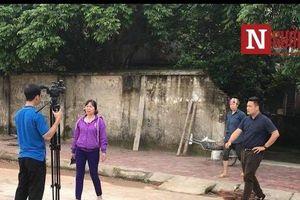 Chủ đàn chó cắn chết người ở Hưng Yên uy hiếp PV tác nghiệp