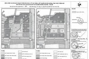 Thừa Thiên Huế công bố tìm nhà đầu tư cho khu đô thị 3.687 tỷ đồng