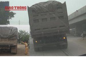 Bắc Giang tổ chức truy quét xe quá tải 24/24h trong 3 tháng cao điểm