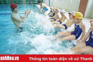 Tổ chức lễ phát động toàn dân tập luyện môn bơi