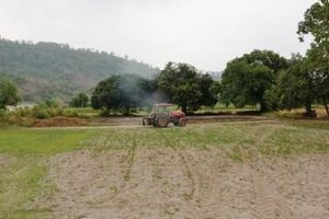 Canh tác mùa khô ở Bảy Núi