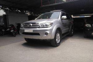 Giá bán xe Toyota Fortuner 2009 là bao nhiêu?