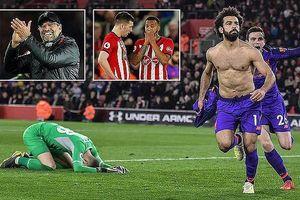 Salah tỏa sáng, Liverpool lội ngược dòng hạ Southampton