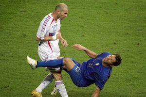 Zinedine Zidane và câu chuyện về cú húc đầu tại World Cup 2006