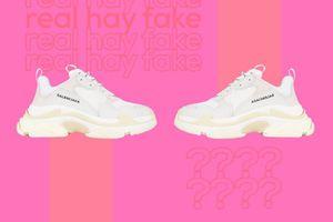 Những đôi sneakers bạn đang sở hữu có thể là giày fake