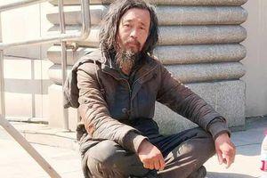 Gã ăn xin trở thành hiện tượng mạng tại Trung Quốc