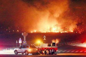 Cháy lớn kinh hoàng tại Hàn Quốc