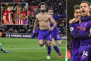 Southampton - Liverpool 1-3: Keita, Salah, Henderson tỏa sáng, HLV Jurgen Klopp tạm dẫn đầu BXH