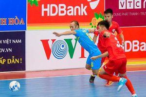Sanna Khánh Hòa và Quảng Nam sớm lấy vé vào vòng 2 giải futsal VĐQG 2019