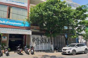 Truy tìm, xử lý nghiêm người bôi bẩn cổng nhà nguyên Viện phó VKSND Đà Nẵng