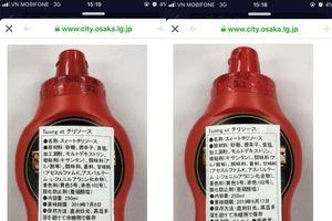 Masan Consumer nói không bán tương ớt trực tiếp cho đối tác ở Nhật