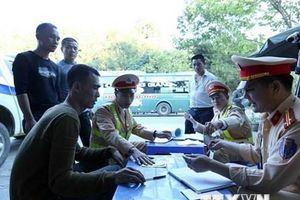 100% lái xe khách trên địa bàn tỉnh Kon Tum âm tính với ma túy