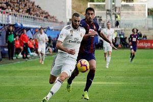Real Madrid quyết phục hận Eibar và áp lực của HLV Zidane
