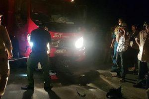 Va chạm với xe tải trên đường tránh Nam Hải Vân khiến một người tử vong tại chỗ