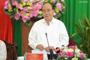 Thủ tướng cam kết hỗ trợ cao tốc Trung Lương-Mỹ Thuận