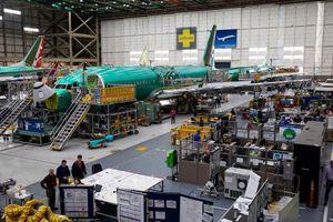 Boeing cắt giảm sản xuất dòng máy bay 737