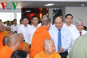 Thủ tướng dự Tết cổ truyền Chôl Chnăm Thmây của đồng bào Khmer